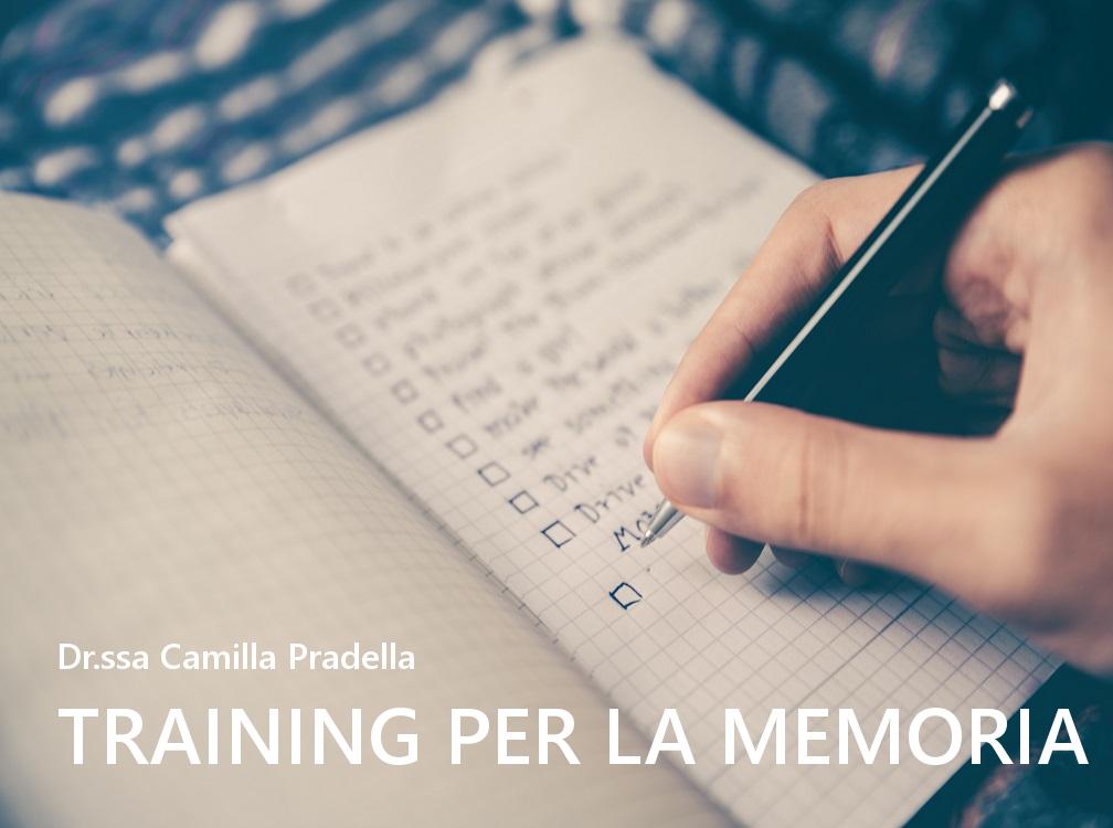 Training per la memoria